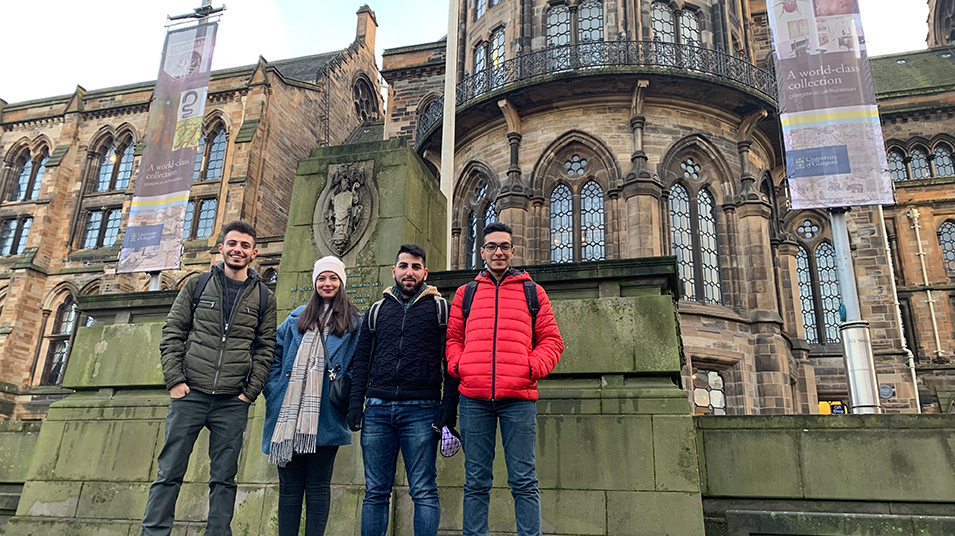 University students begin their exchange semesters abroad